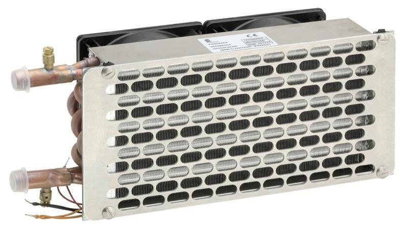 Vodní výměník Helios 4000 /12V s dvourychlostním ventilátorem 222282105100 Eberspächer