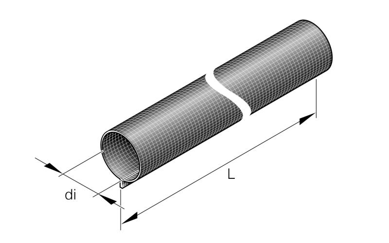 Izolační ochrana 28mm x 500mm na výfukovou trubku 24mm 36000363 Eberspächer