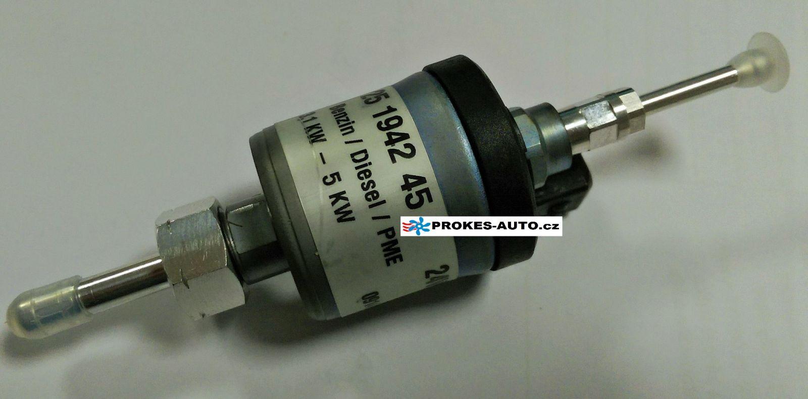 Palivové čerpadlo 24V D5WS diesel 3,1-5 kW 25194245 / 251942450000 Eberspächer