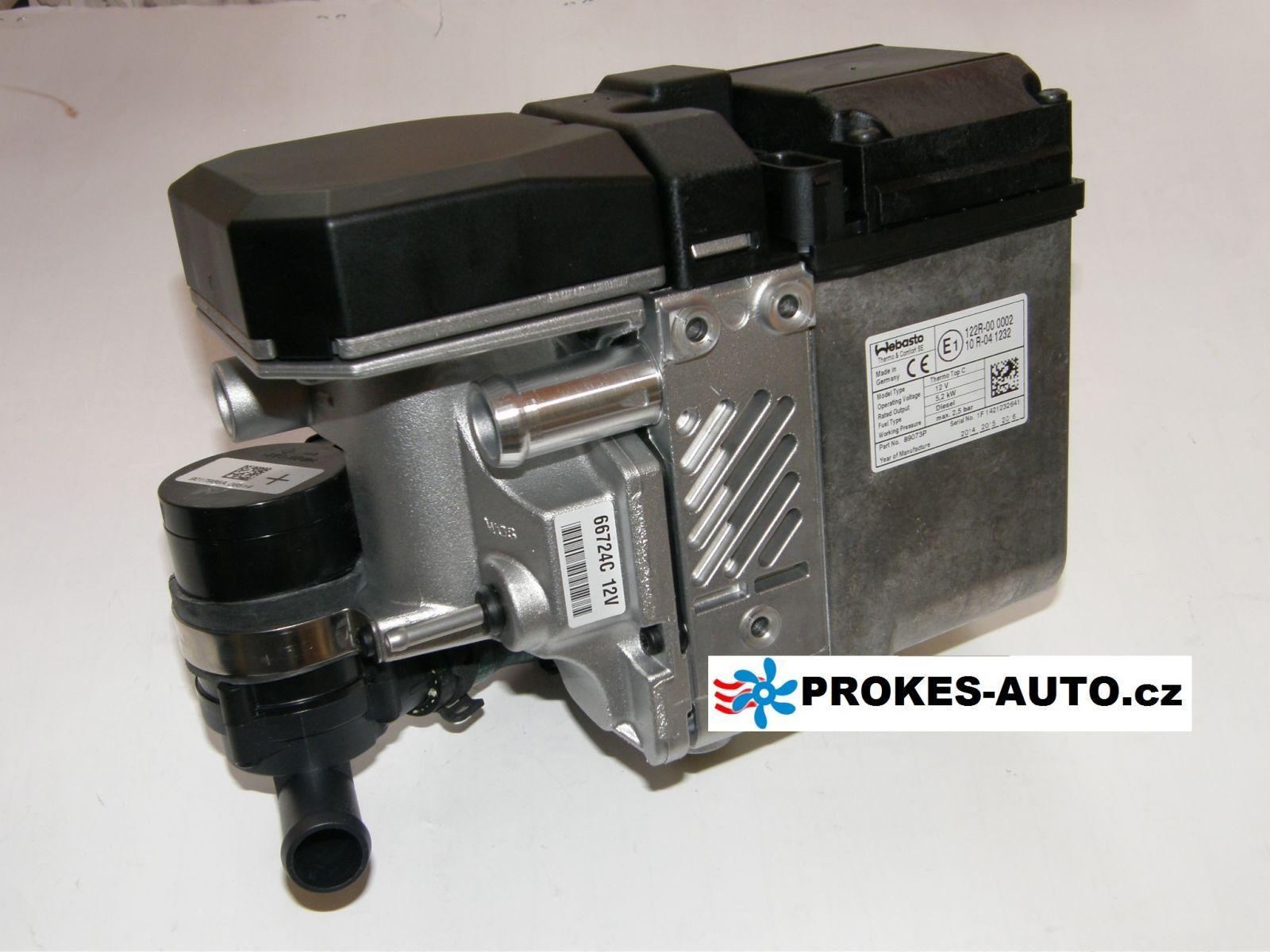 WEBASTO Thermo 50 diesel, 24V, bez ovladače 67014 / 9026553