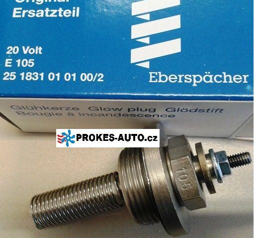 Žhavicí svíčka E105 D1LC / D3LC Compact / D5LC / D8LC / D5 24V 251831010100 Eberspächer