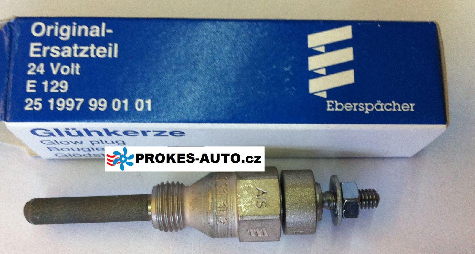 Žhavící svíčka E129 24V Hydronic 10 / D9W 251997990101 Eberspacher
