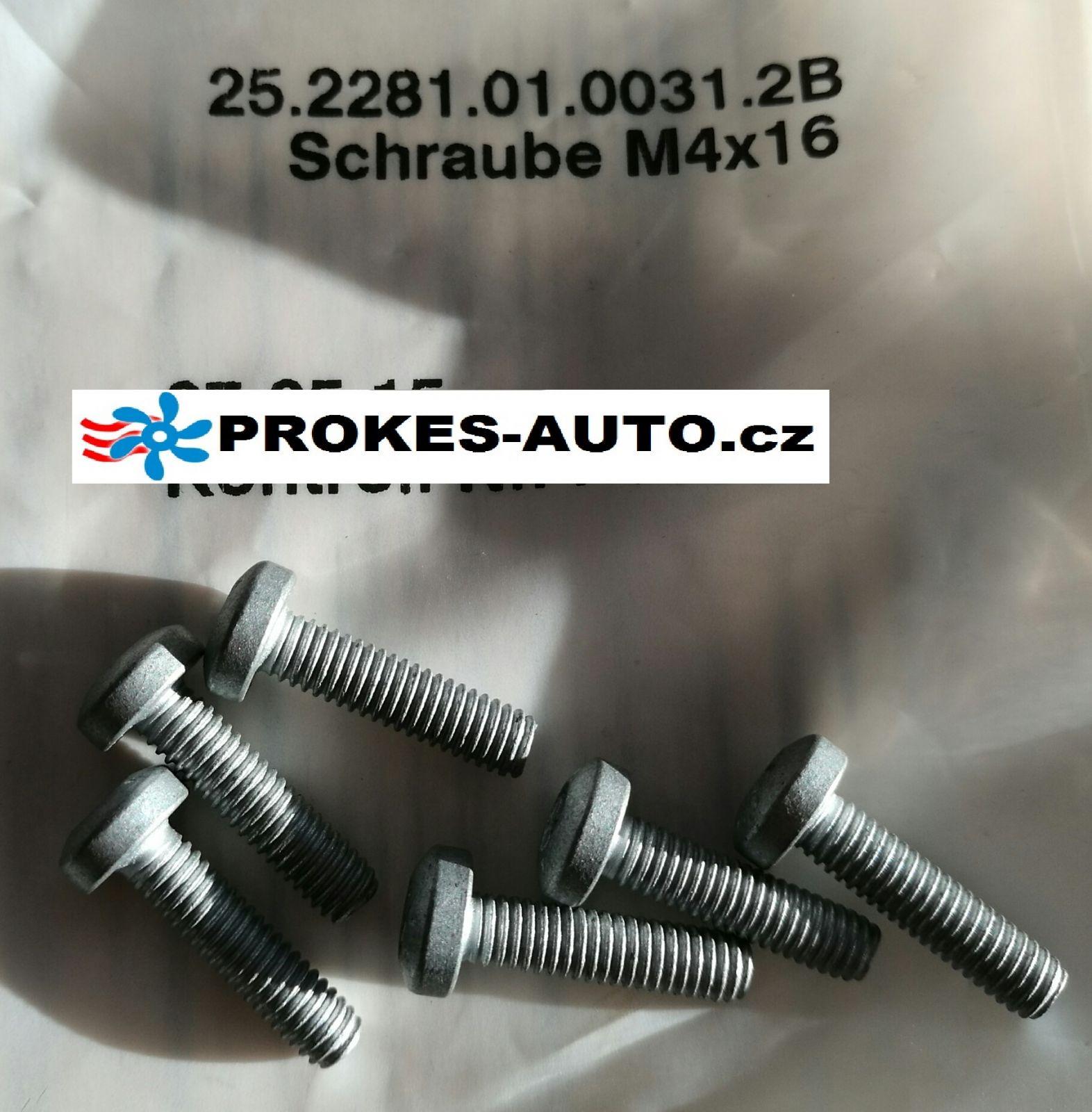 Sada šroubů pro HYDRONIC II-F D5Z-F D5S-F / 252281010031 Eberspächer