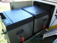 Indel B TB45A 12/24/230V 45L -18°C kompresorová autolednička