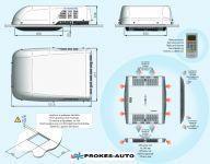 Autoclima RTEH 27 klimatizace 2700W / topení 2900W / 230V