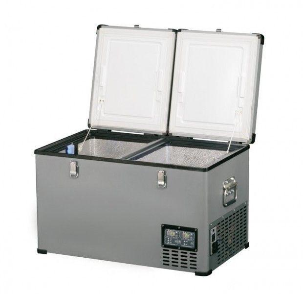 Indel B TB65DD Steel 65L 12/24/230V -18°C kompresorová autolednička
