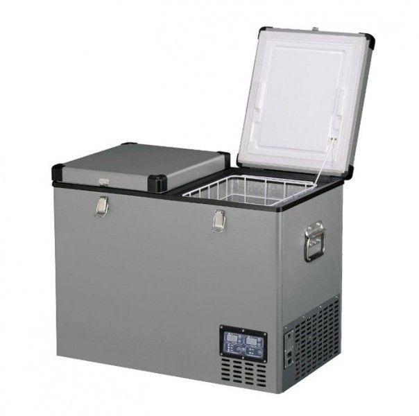 Indel B TB92DD Steel 92L 12/24/230V -18°C kompresorová autolednička