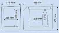 Waeco TropiCool TC 35 12/24/230V Termoelektrická autochladnička TC-35FL-AC / 9105302110