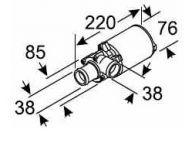 Eberspacher OBĚHOVÉ ČERPADLO U4814 24V Aquavent 5000 AMP 252488260100 Eberspächer
