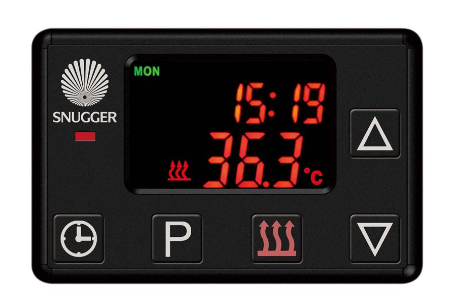 Digitální předvolbové hodiny v Češtině SNUGGER