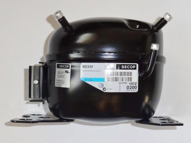 Kompresor BD35F SECOP / Danfoss G131 / 12-24V DC / 101Z0200