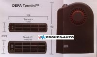 DEFA Termini 2100 topení se zástrčkou A430061 / 430061