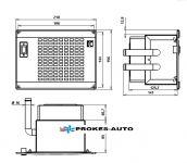 Přídavný výměník tepla Silencio FAI 12V Kalori 120.14.081