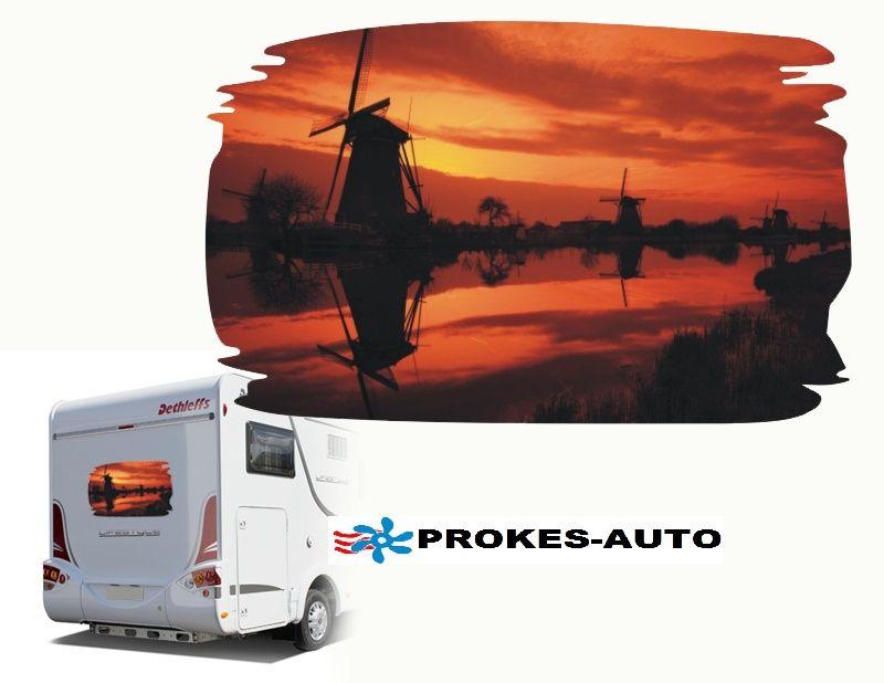 Samolepka na karavan HOLLAND PROKES-AUTO