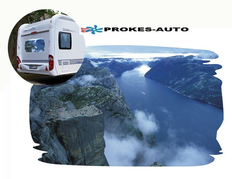 Samolepka na karavan NORWAY PROKES-AUTO