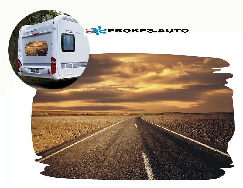 Samolepka na karavan ROAD PROKES-AUTO