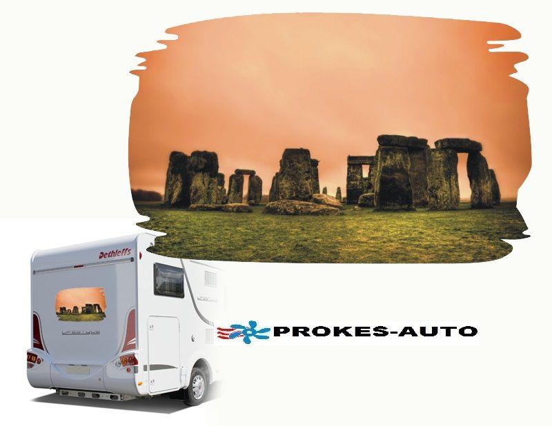 Samolepka na karavan STONEHENGE PROKES-AUTO