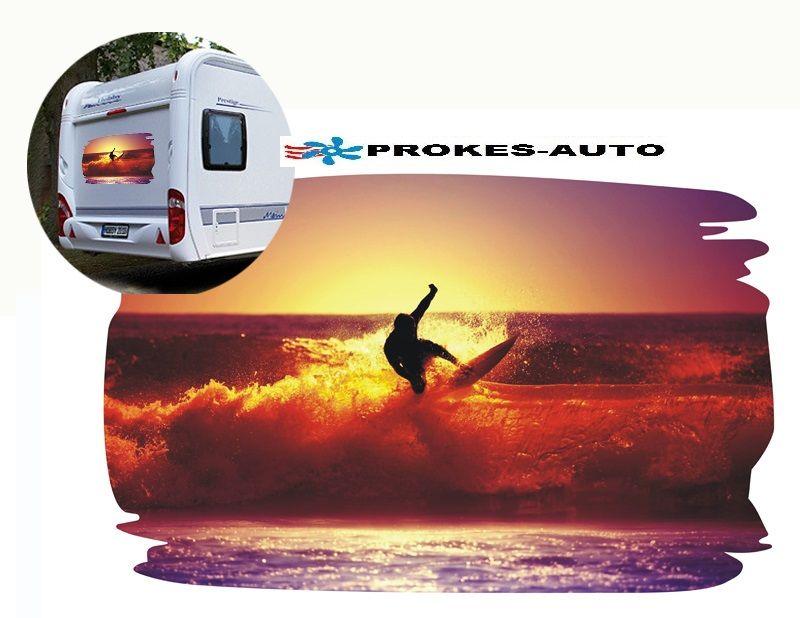 Samolepka na karavan SURFER2 PROKES-AUTO