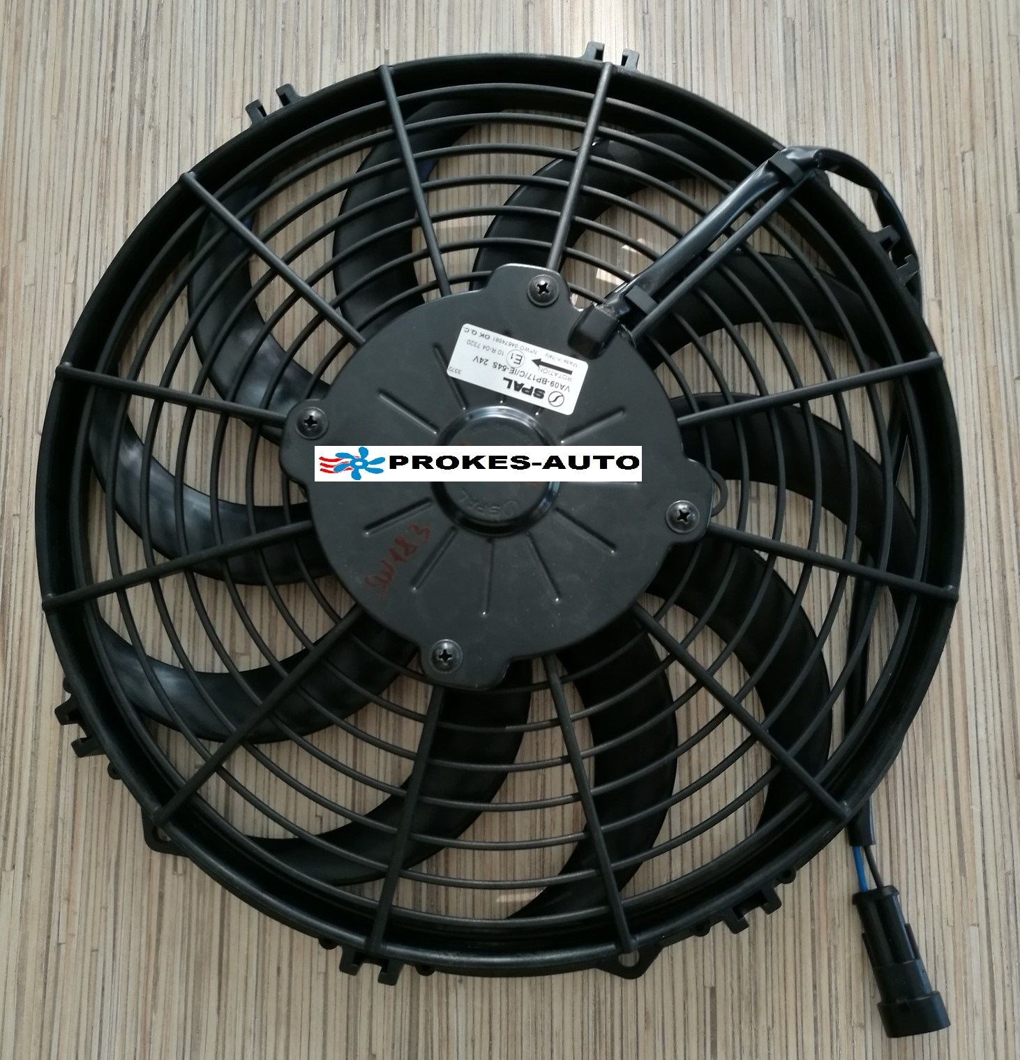 Ventilátor kondenzátoru 24V pro Sleeping Well Oblo / Fresco 3000 / 30315263 SPAL