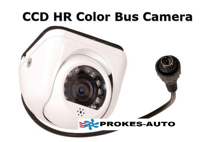 Kamera autobusová; objektiv 2,1mm; HIR; audio; miniDIN-6