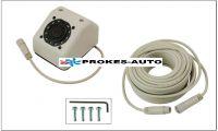 Kamera autobusová; objektiv 2,5mm; IR; audio; PAL; nestandardní miniDIN-6