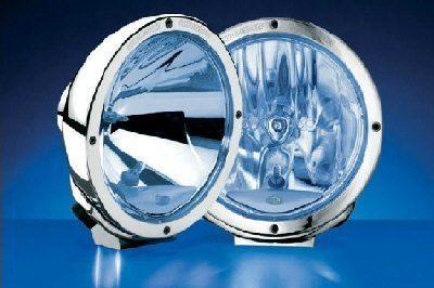 Reflektor Luminator chrom CLEAR BLUE Hella