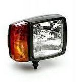 Reflektor MODUL 120 s potkávacím světlem a se směrovými světly-levý Hella