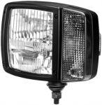 Reflektor MODUL 120 s potkávacím světlem a se směrovými světly-pravý Hella