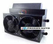 Teplovodní topení pro kloubové autobusy IVECO - KAROSA