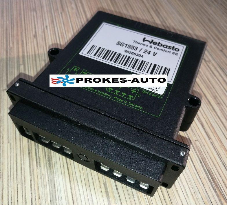 Webasto Řídící jednotka 1553 pro DBW2010 9023418 / 30607 / 9028630 / 9028630A