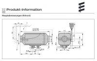 Teplovzdušné topení Airtronic D2 12V 252069050000 + zástavbová sada EasyStrat T Eberspächer