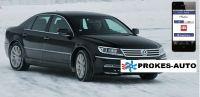 Webasto Přestavbová sada VW Phaeton CLIMATRONIC včetně ovládání mobilem
