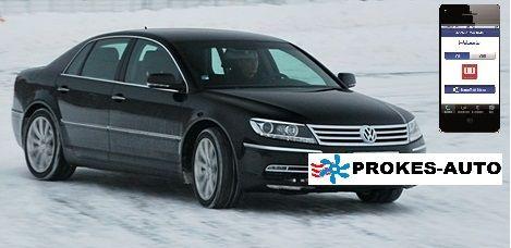 Webasto Přestavbová sada VW Phaeton CLIMATRONIC včetně ovládání mobilem TC3