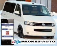 Přestavbová sada VW T5 ACC CLIMATRONIC včetně ovládání mobilem