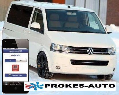 Webasto Přestavbová sada VW T5 ACC CLIMATRONIC včetně ovládání mobilem TC3