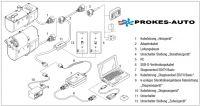 Kabelový adaptér Hydronic D3WZ / D4/D5 W S/SC k diagnostickým hodinám 221000316300 Eberspächer