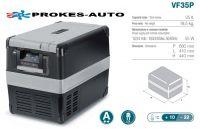 VITRIFRIGO VF35P / 35L 12/24V / 110-240V / +10 až -22ºC kompresorová autochladnička