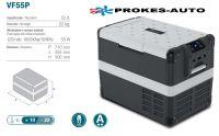 VITRIFRIGO VF55P / 55L 12/24V / 110-240V / +10 až -22ºC kompresorová autochladnička