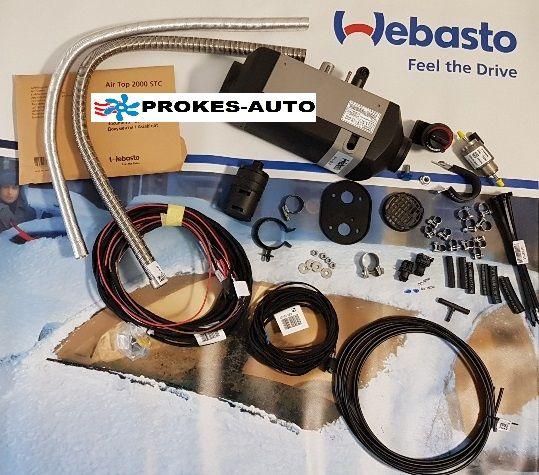 Webasto AT2000STC Diesel 24V + ovladač + zástavbová sada 9032229A / 9032229 / 9022049 / 9034319
