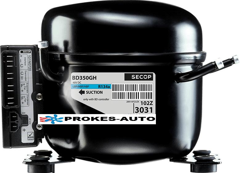 Kompresor BD350GH SECOP včetně jednotky pro klimatizace 12V