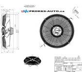 ZIEHL-ABEGG ventilátor sací 910 mm 400V 6 pólový 209589