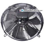 Sací ventilátor Axiální Ziehl Abegg univerzální s košem 3~400V 50Hz