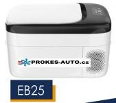 EB25 kompresorová autochladnička 25L 12/24V/230V -20ºC