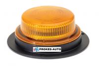 Maják TRUCK-LITE LED na 3 šrouby - oranžový