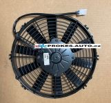 Ventilátor SPAL univerzální sací 12V průměr 280mm 10 lopatek VA09