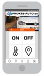 VW T6.1 GSM ovládání pro vodní topení s rozšiřovací sadou