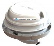 Střešní / nástěnný ventilátor MaxxAir Maxxfan Dome 12V, bílý, s LED osvětlením