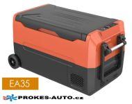 EA35 kompresorová autochladnička 35L 12/24V / 100/240V to -20ºC dvouzónová