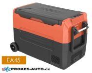 EA45 kompresorová autochladnička 45L 12/24V / 100/240V to -20ºC dvouzónová