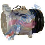 HARRISON UNI kompresor V5 / 12V řemenice 132mm 2GA připojení Rotalock Vertical